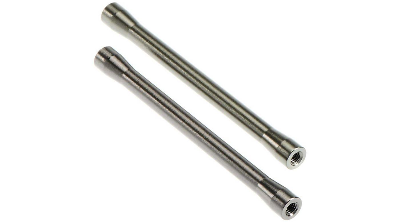Image for Threaded Aluminum Link 7.5x85.5mm, Gray (2) from HorizonHobby