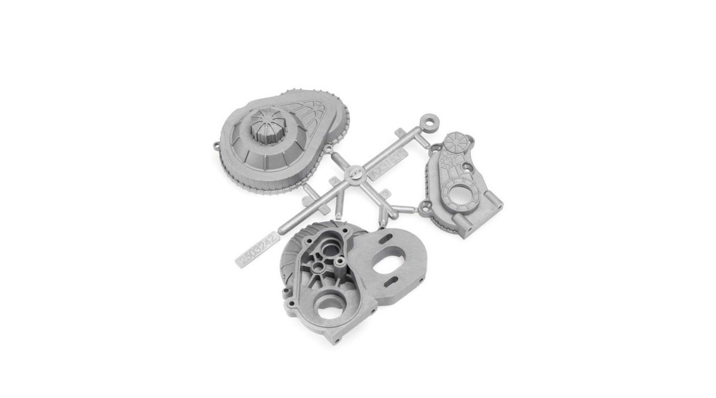 Image for LCX Transmission Case Silver from HorizonHobby
