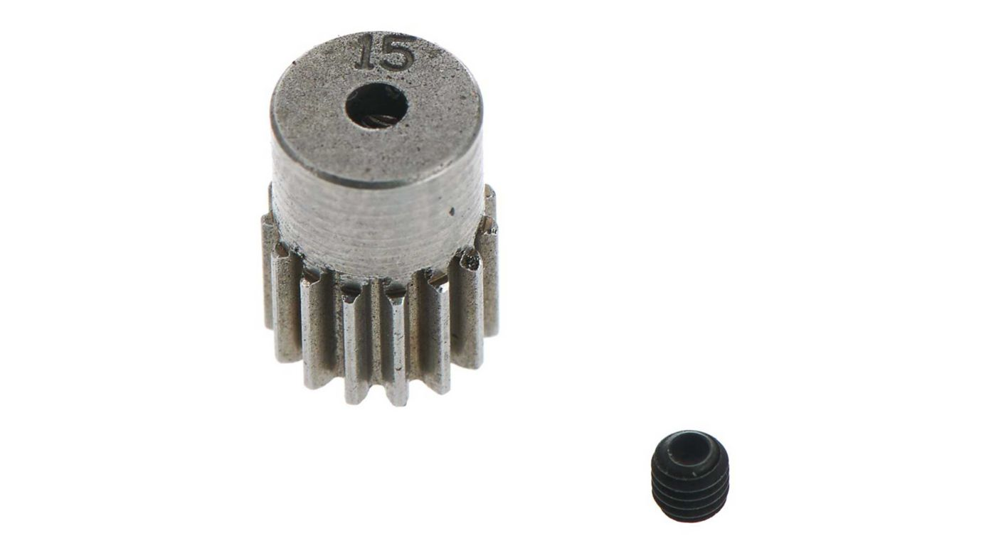 Image for Pinion Gear 48P 15T 2.3 Motor Shaft from HorizonHobby