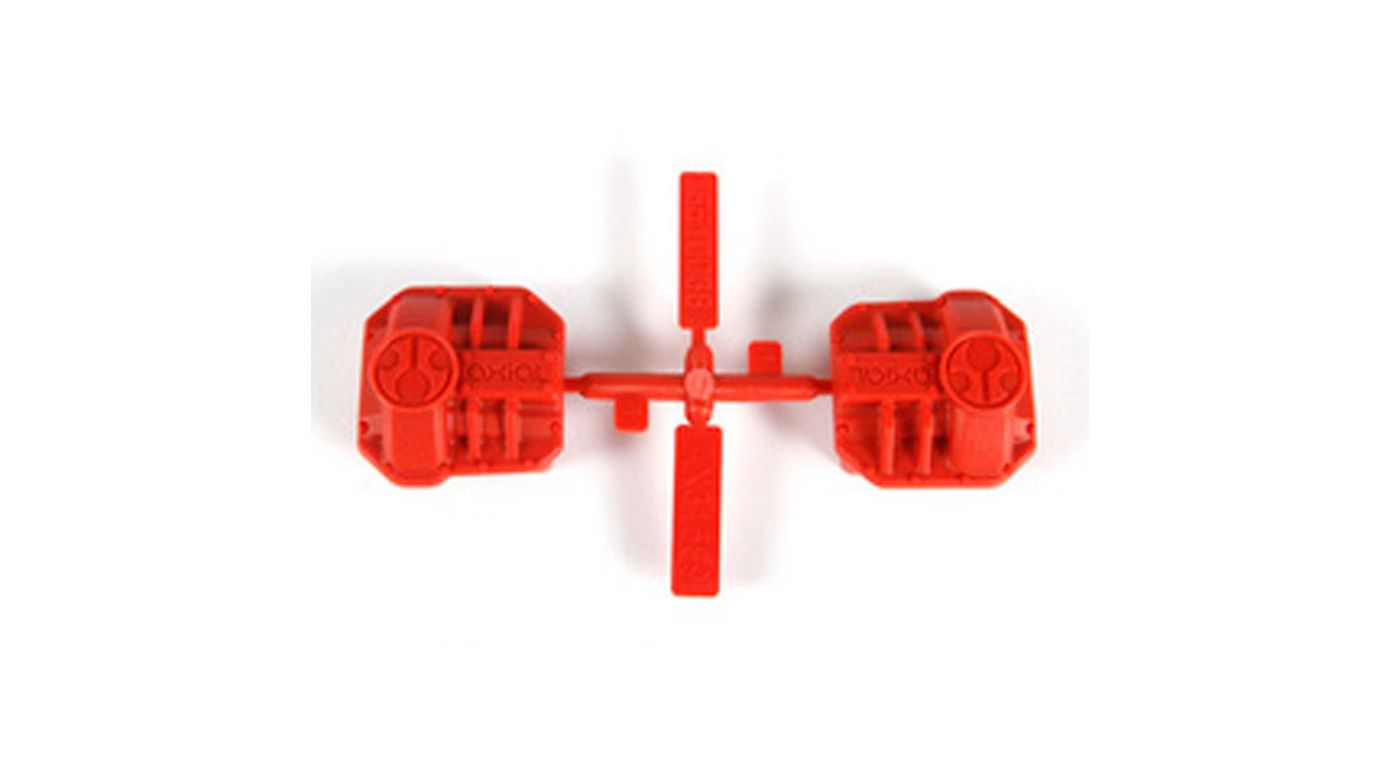 Image for Differential Cover, Red: AR44 SCX10 II from HorizonHobby