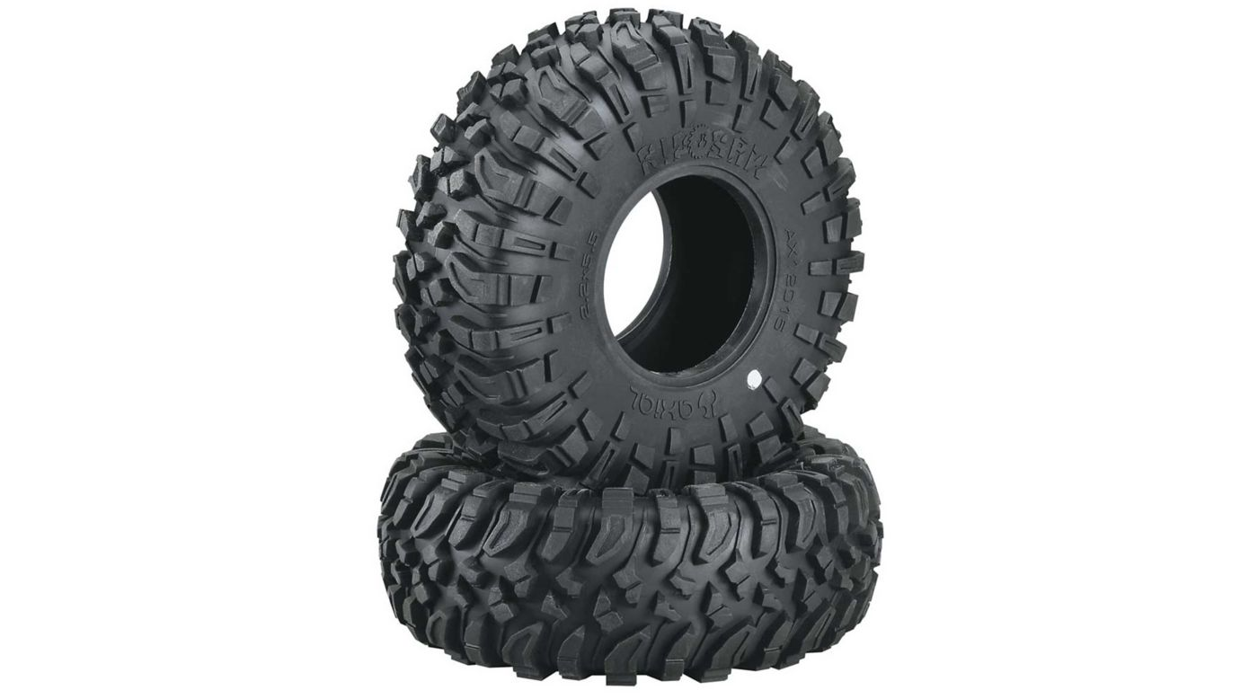 Image for 1/10 Ripsaw X Compound 2.2 Tire with Inserts (2) from HorizonHobby