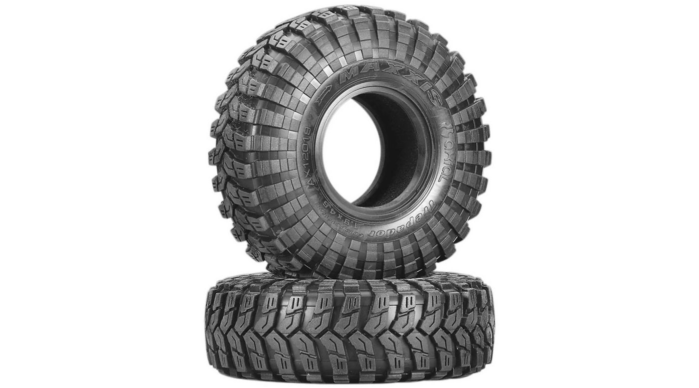 Image for 1/10 Maxxis Trepador Tires R35 1.9 Tire with Inserts (2) from HorizonHobby