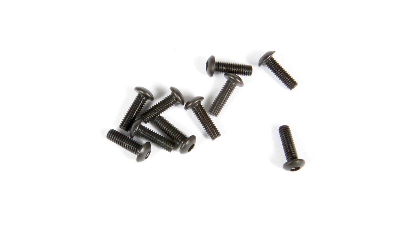 Image for Hex Socket Button Head M2.6x8mm, Black (10) from HorizonHobby