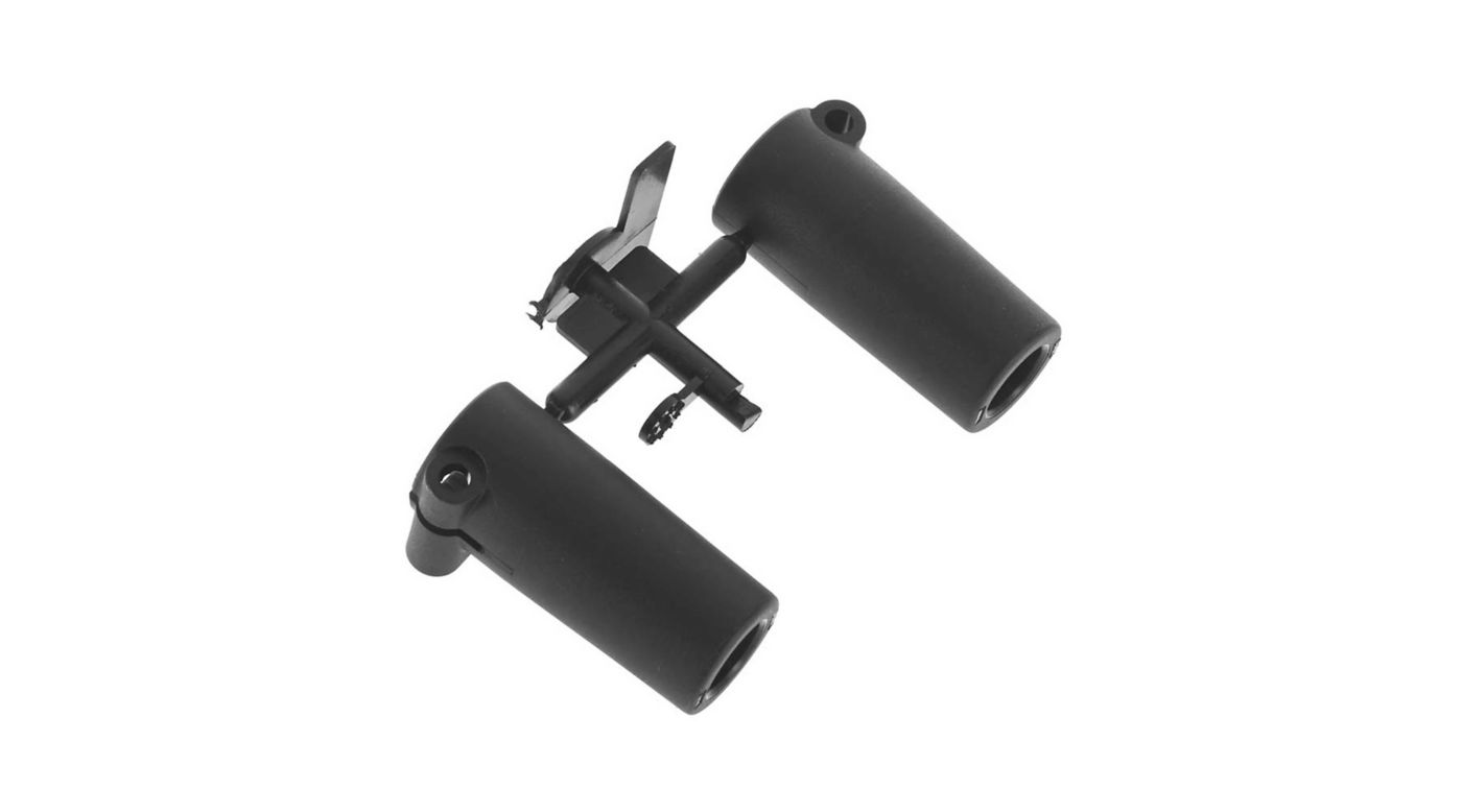 Image for AR44 Straight Axle Adapters from HorizonHobby