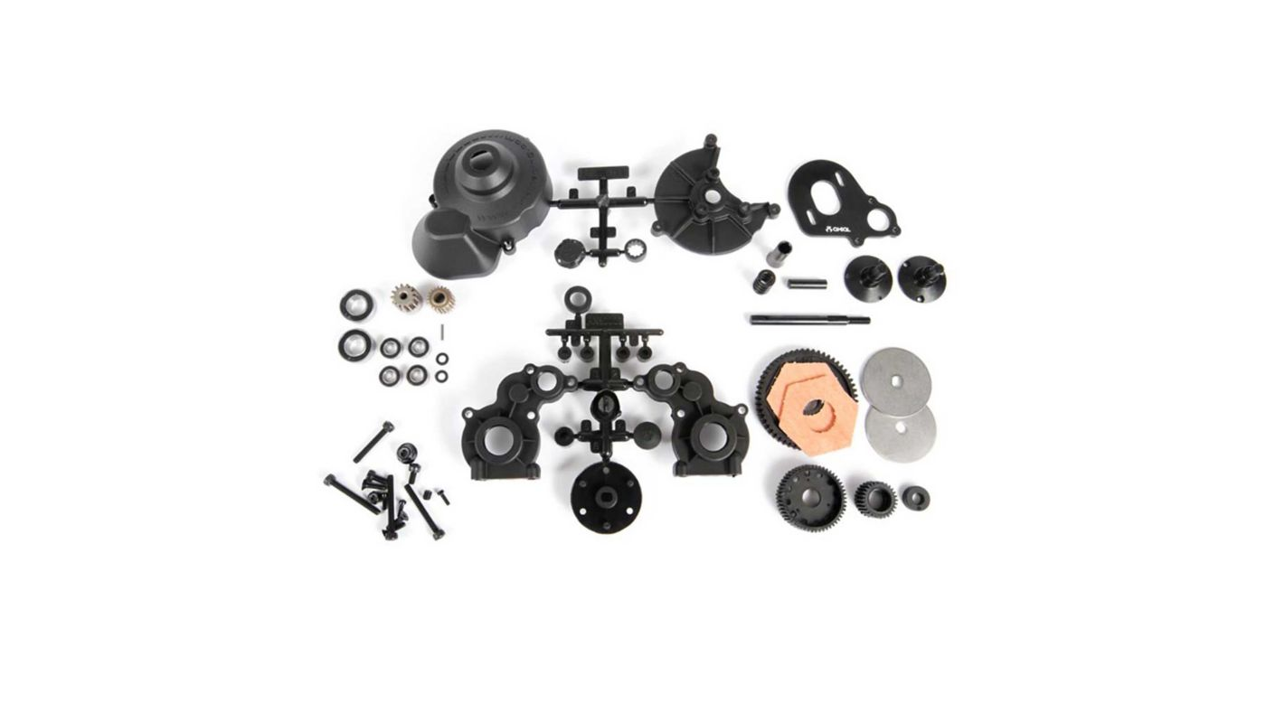 Image for Locked Transmission Set AX10 from HorizonHobby