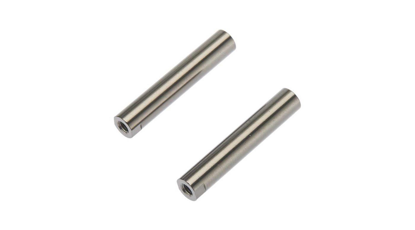 Image for Threaded Aluminum Pipe 6x33mm Grey (2) from HorizonHobby