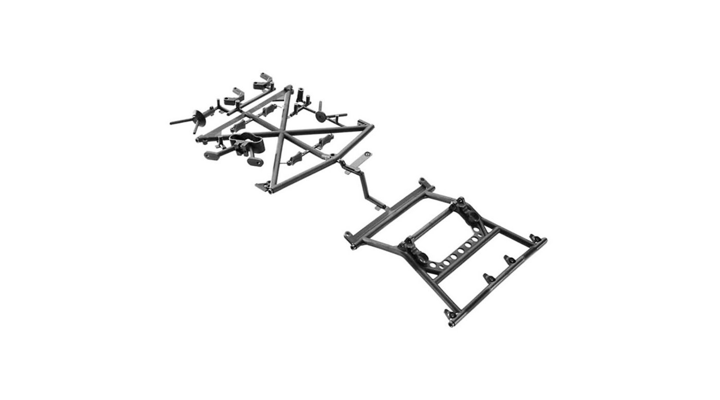 Image for Y-380 Cage Top Rear Tire Carrier Yeti from HorizonHobby