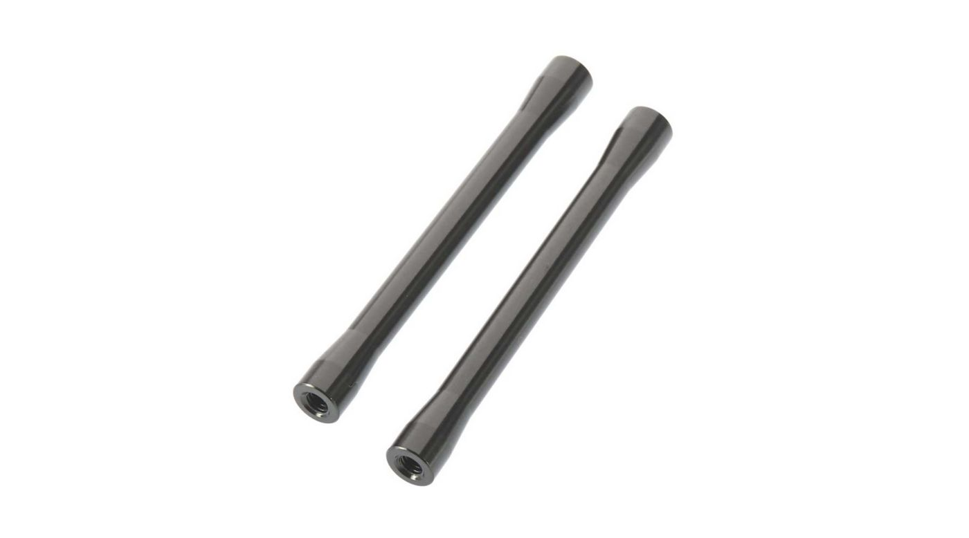 Image for Threaded Alum Link 7.5x71mm Gray (2) from HorizonHobby