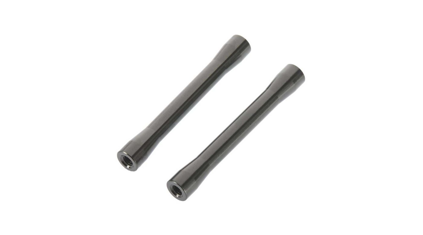 Image for Threaded Alum Link 7.5x56.5mm Gray (2) from HorizonHobby