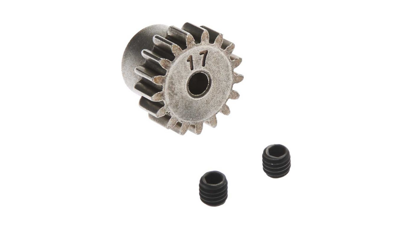 Image for Pinion Gear 32P 17T Steel 3mm Motor Shaft from HorizonHobby