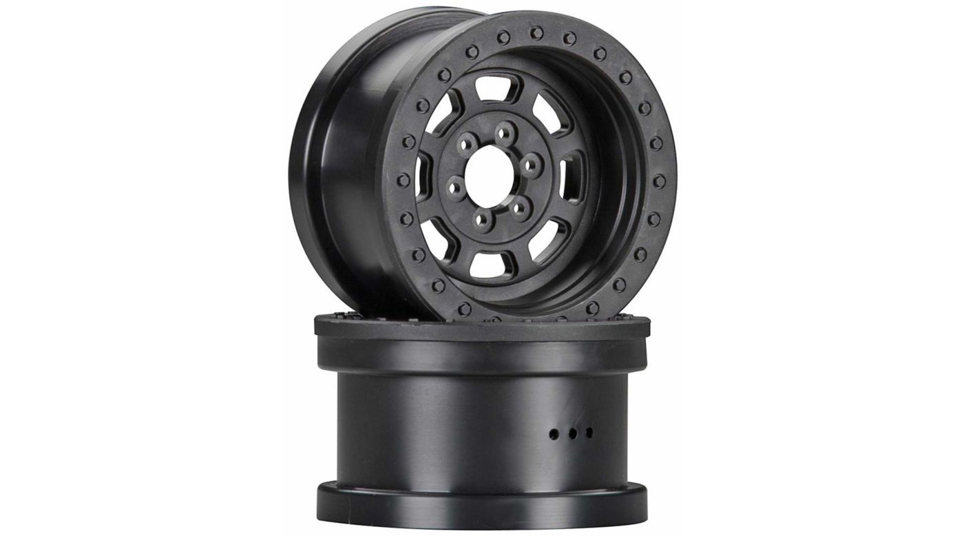 Image for 2.2 Trail Ready HD Series Wheels Black (2) from HorizonHobby