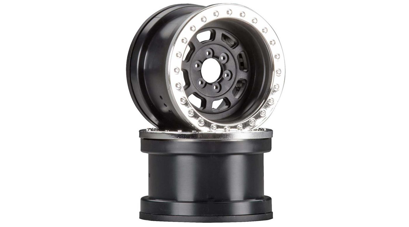 Image for 1/10 Trail Ready HD Series 2.2 Wheels, 12mm Hex, Chrome (2) from HorizonHobby