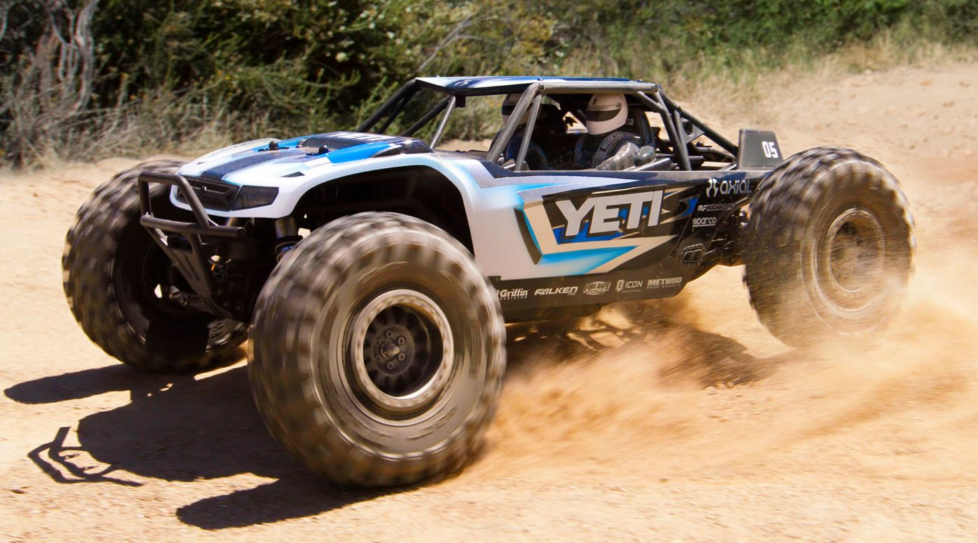 Image for 1/10 Yeti 4WD Rock Racer Kit from HorizonHobby