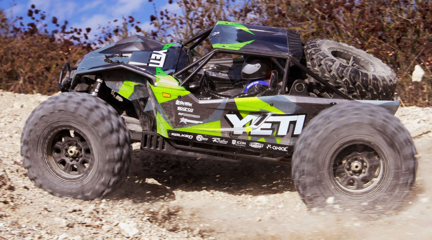 Image for 1/8 Yeti XL Brushless Monster Buggy 4WD Kit from HorizonHobby