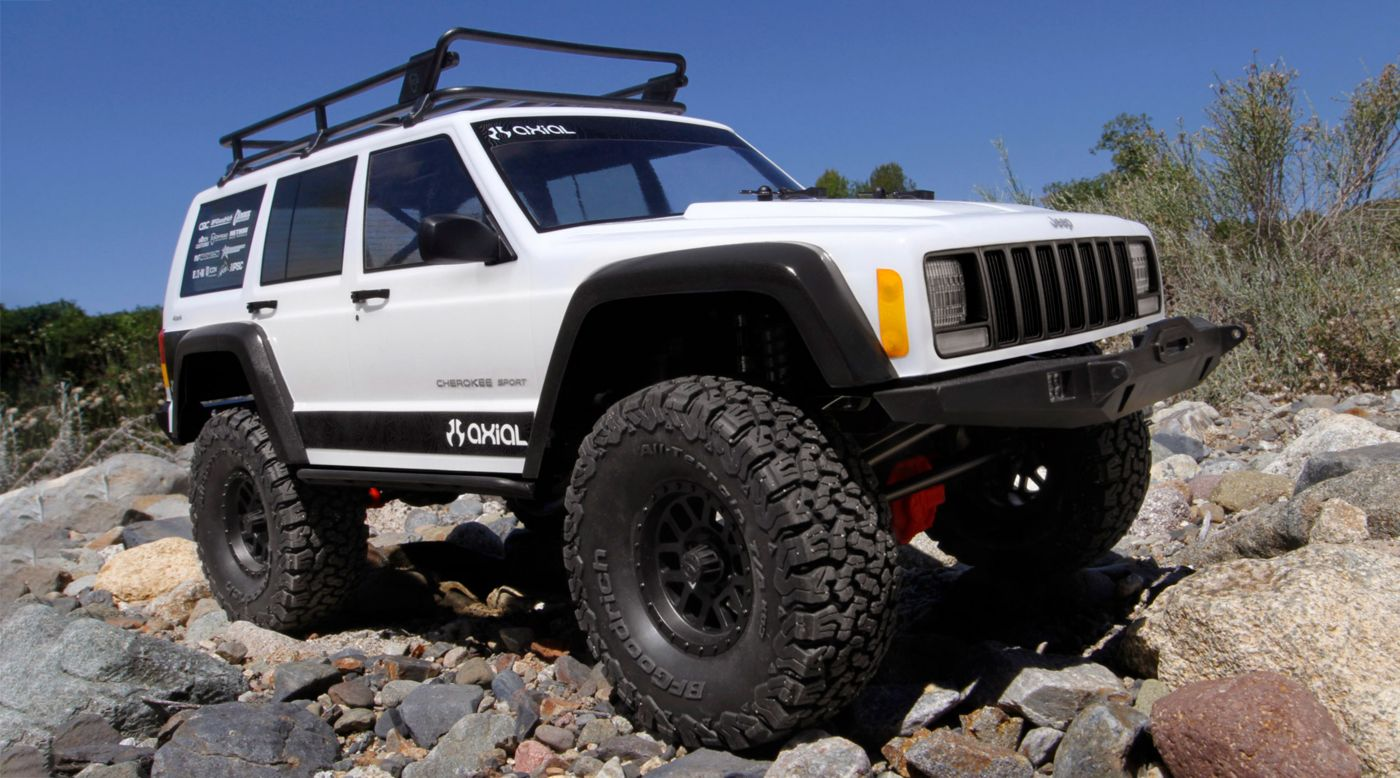 Image for 1/10 SCX10 II Jeep Cherokee Rock Crawler 4WD Kit from HorizonHobby