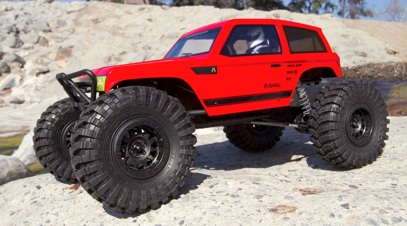 Image for 1/10 Wraith Spawn 4WD Rock Racer Kit from HorizonHobby