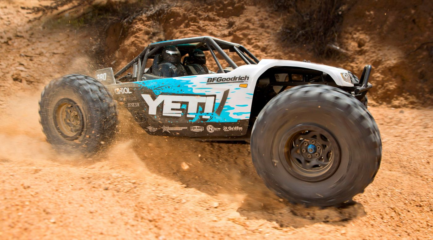 Image for 1/10 Yeti 4WD Rock Racer Brushless RTR from HorizonHobby