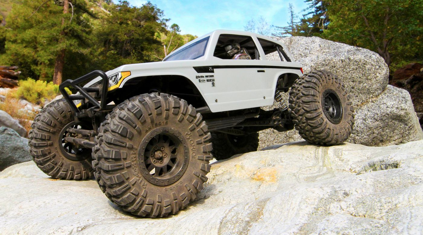 Image for 1/10 Wraith Spawn 4WD Rock Racer Brushed RTR from HorizonHobby