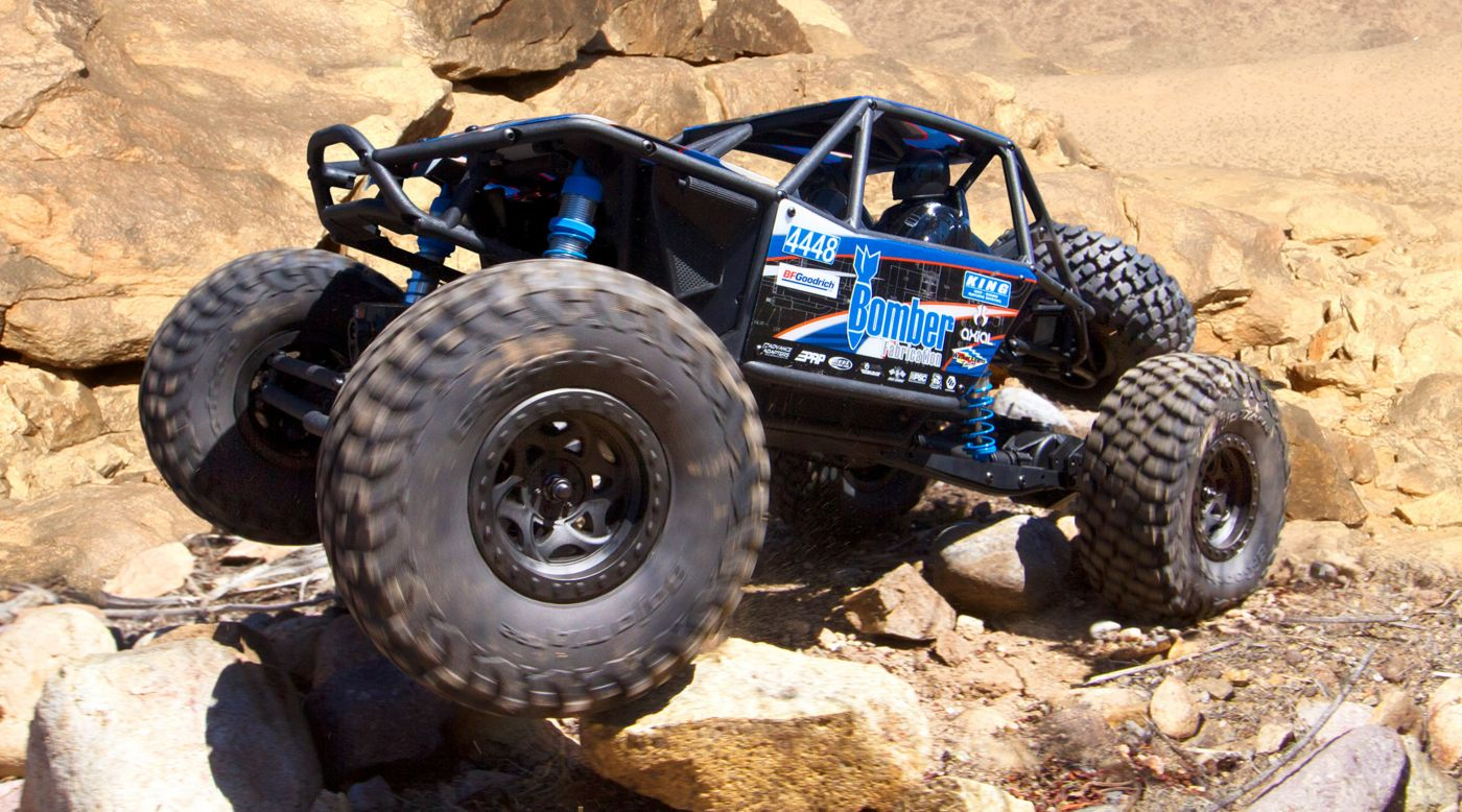 Image for 1/10 RR10 Bomber 4WD Rock Racer Brushed RTR from HorizonHobby