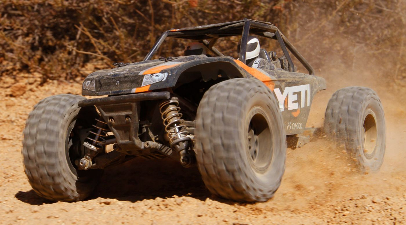Image for 1/18 Yeti Jr 4WD Rock Racer Brushed RTR from HorizonHobby
