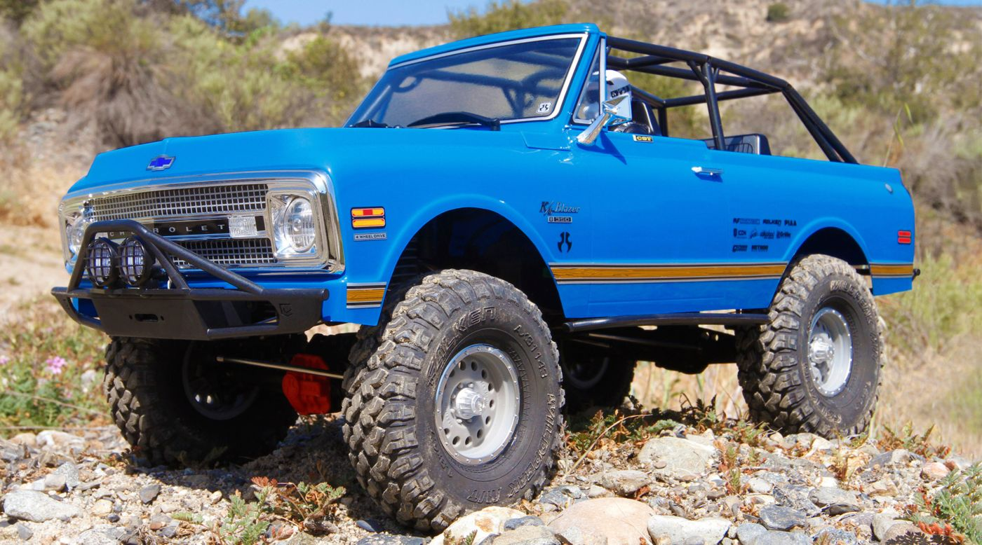 Image for 1/10 SCX10 II '69 Chevrolet Blazer 4WD Rock Crawler Brushed RTR from HorizonHobby