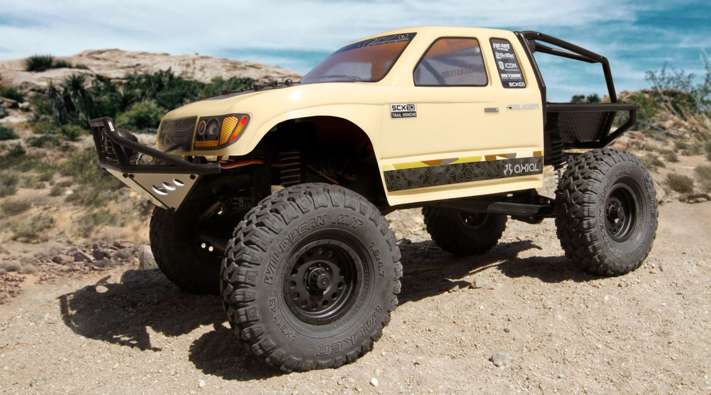 Image for 1/10 SCX10 II Trail Honcho Brushed Rock Crawler 4WD RTR from HorizonHobby