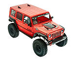 Axial - 1/10 SCX10 II 2017 Jeep Wrangler Unlimited CRC Brushed Rock Crawler 4WD RTR