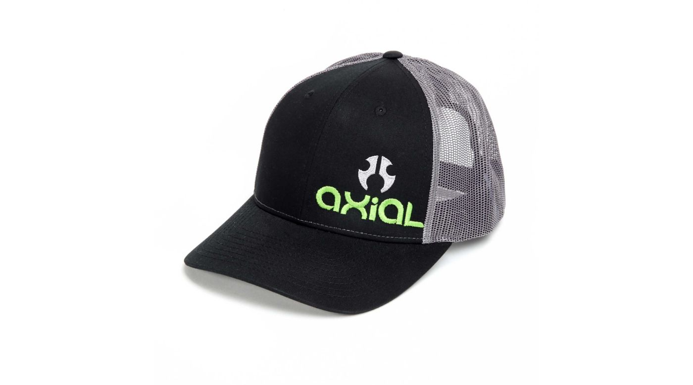 Image for Axial Trucker Hat/Cap, Charcoal Black from HorizonHobby