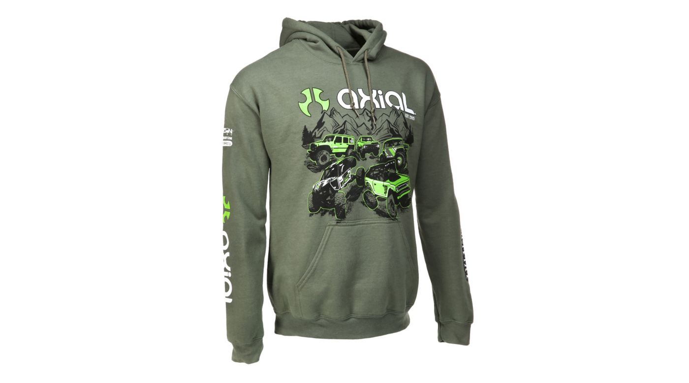 Image for Green Hoodie, 4X-Large from HorizonHobby