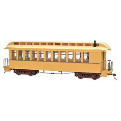 Bachmann 26204 On30 Wood Coach/Observation Spectrum Painted Unlettered
