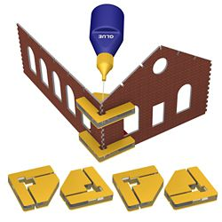 Bachmann 39009 HO Magnetic Snap Set Glue Not Included 4 Magnetic Clamps w/16 Magnets