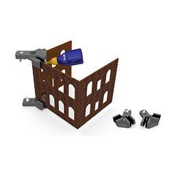 BAC39010 Bachmann Industries HO R Angle Hold & Glue Set 160-39010