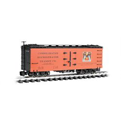 Bachmann 93203 G Wood Reefer Golden Eagle Oranges