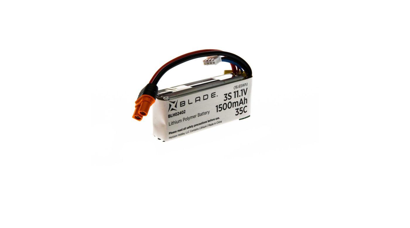 Image for 11.1V 1500mAh 35C 3S LiPo Battery, iC3 Plug from HorizonHobby