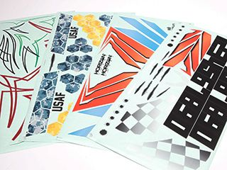 Multiple Decal Sheets Included