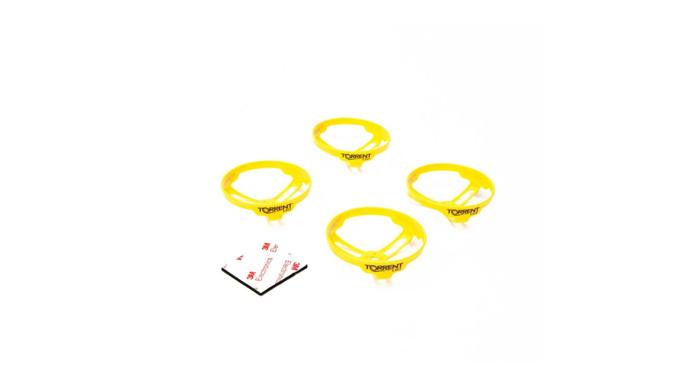 Image for Prop Guards Yellow (4): Torrent 110 from HorizonHobby