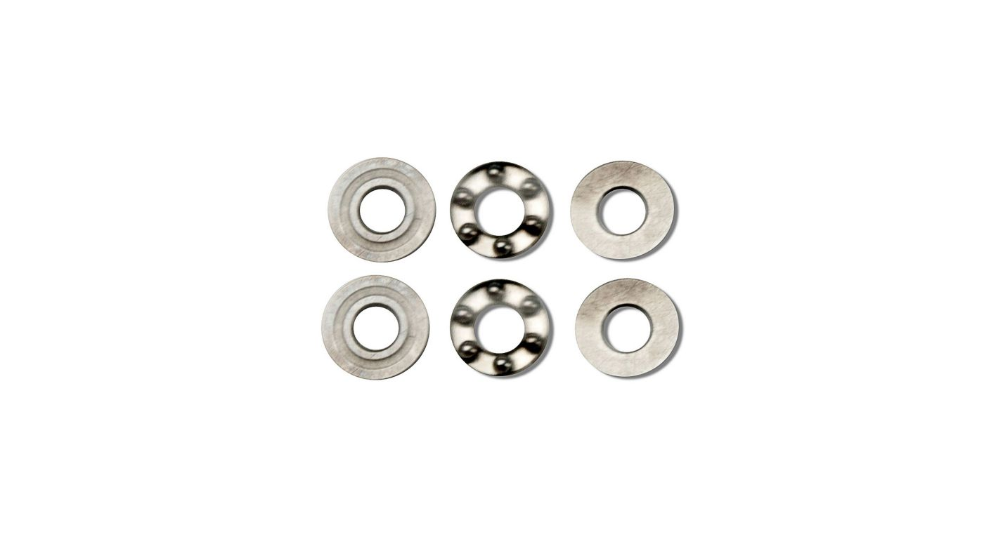 Image for 2.5x6x3 Thrust Bearing (2) from HorizonHobby