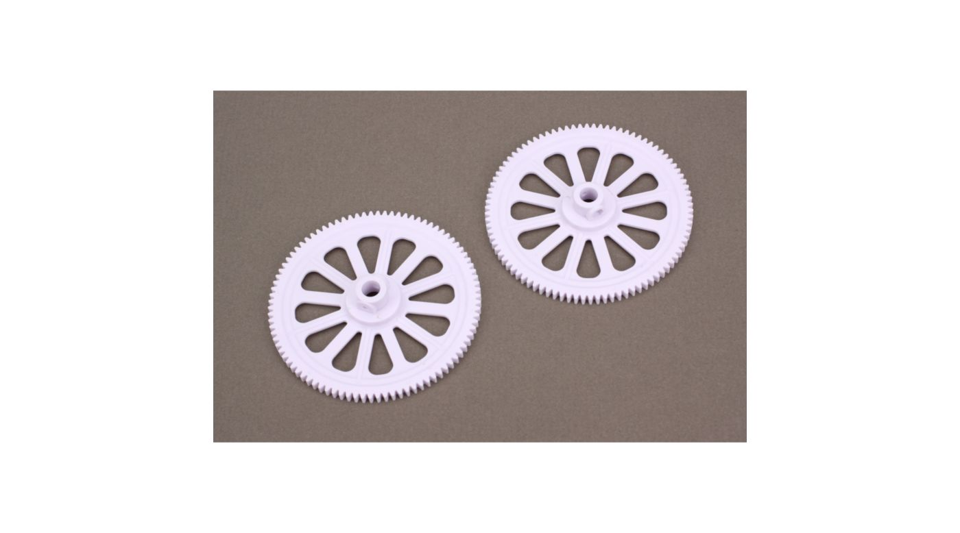 Image for Main tail Drive Gear (2): B450 from HorizonHobby