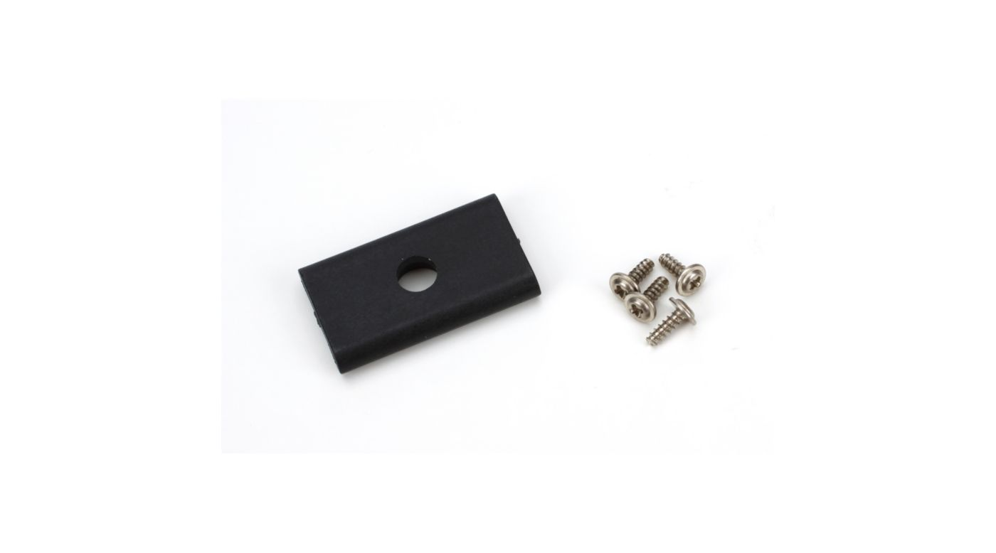Image for Tail Drive Shaft Lower Bearing Block/Mount: B450, 330X, 330S from Horizon Hobby