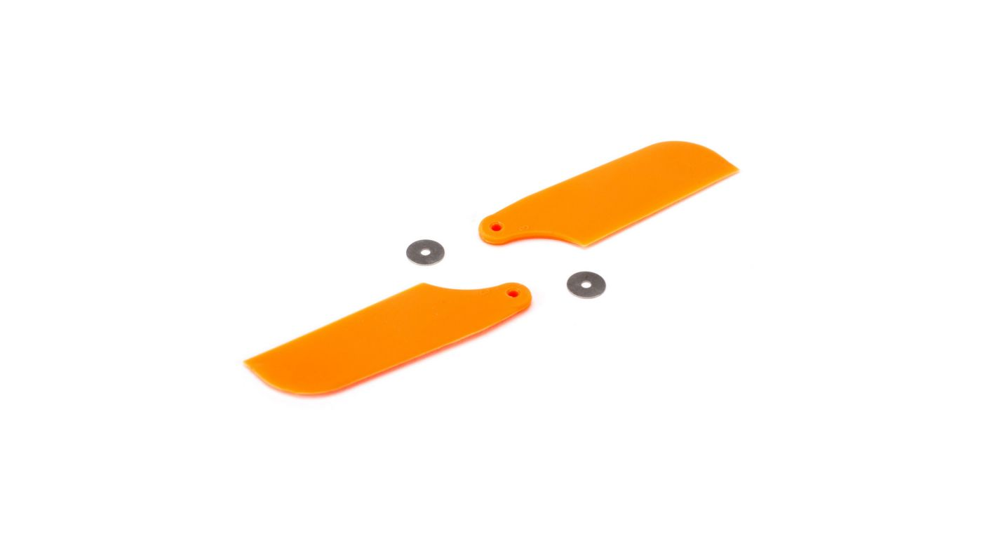 Image for Tail Rotor Blade Set, Orange: B450 3D, B400, B450 X from HorizonHobby