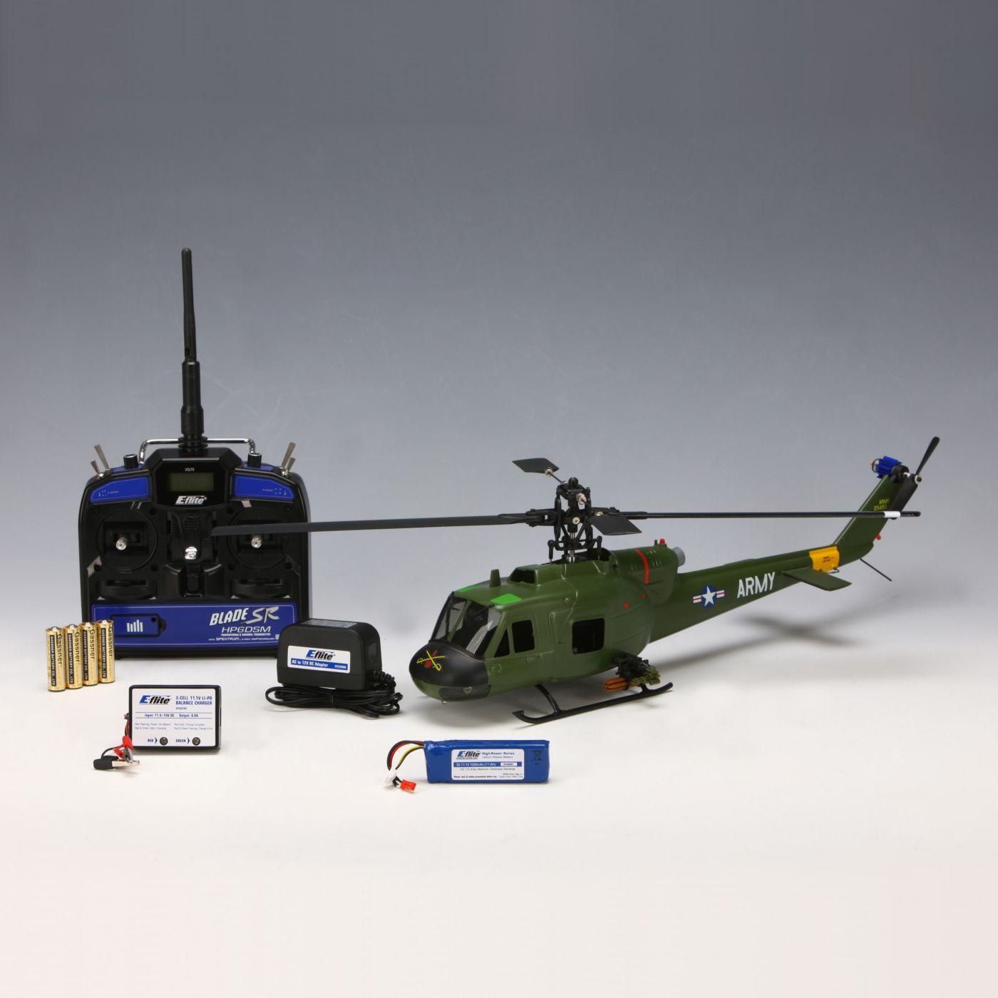 SR UH-1 Huey Gunship RTF | HorizonHobby