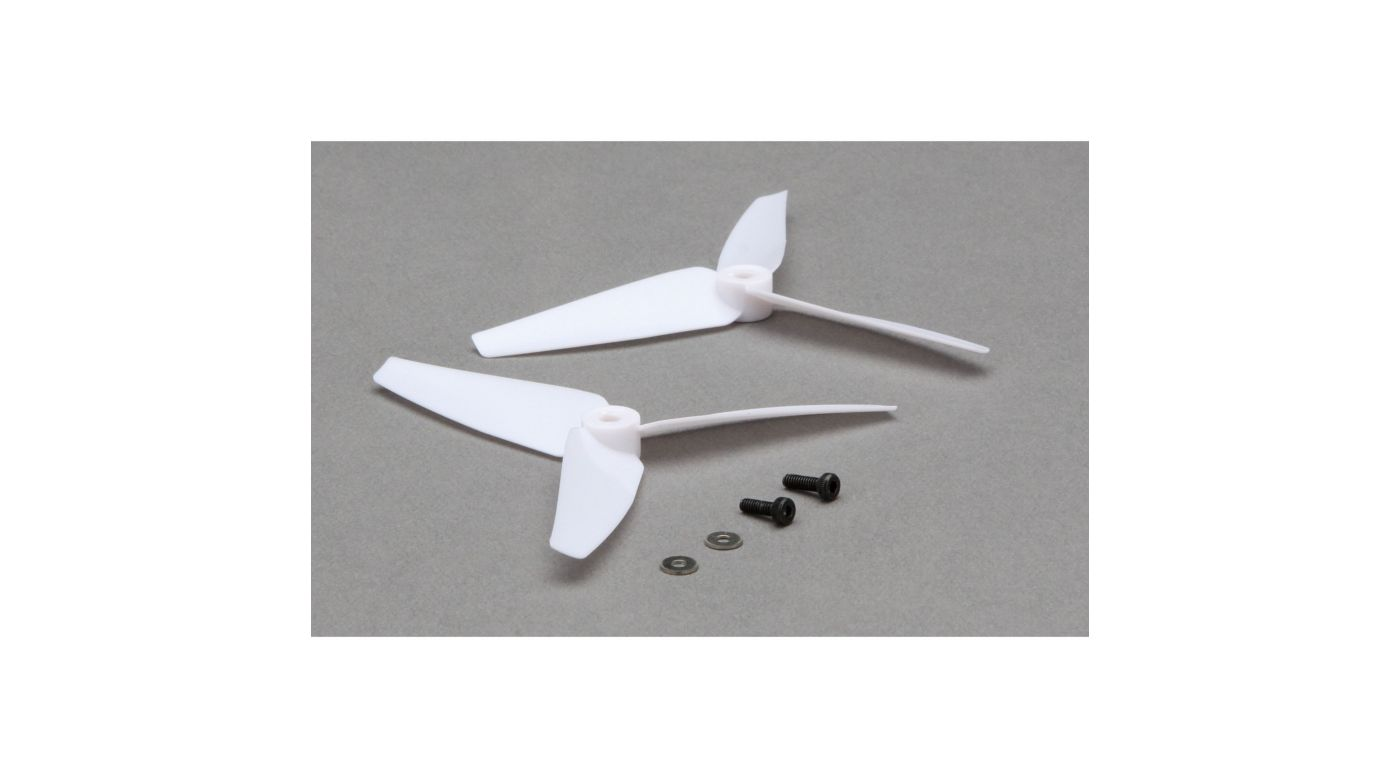 Image for Tail Rotor Blade Set, White (2): 200 SR X from HorizonHobby