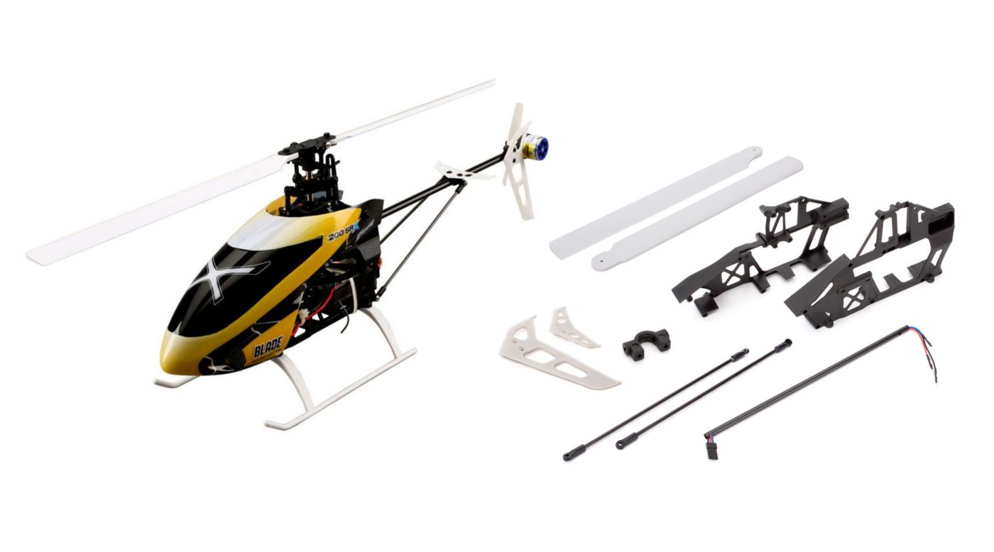 Image for 200 SR X BNF Combo with Spare Parts Set from HorizonHobby