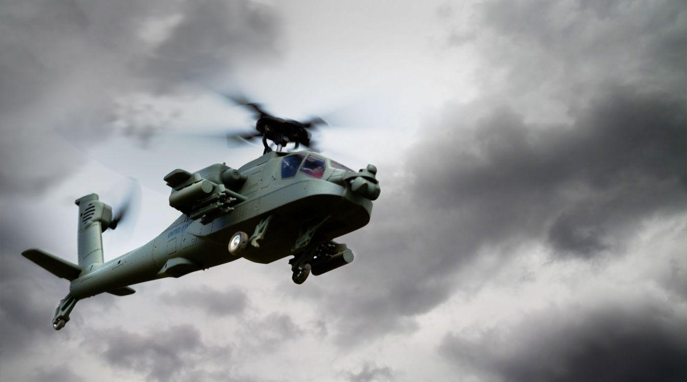 Image for Micro AH-64 Apache RTF from HorizonHobby