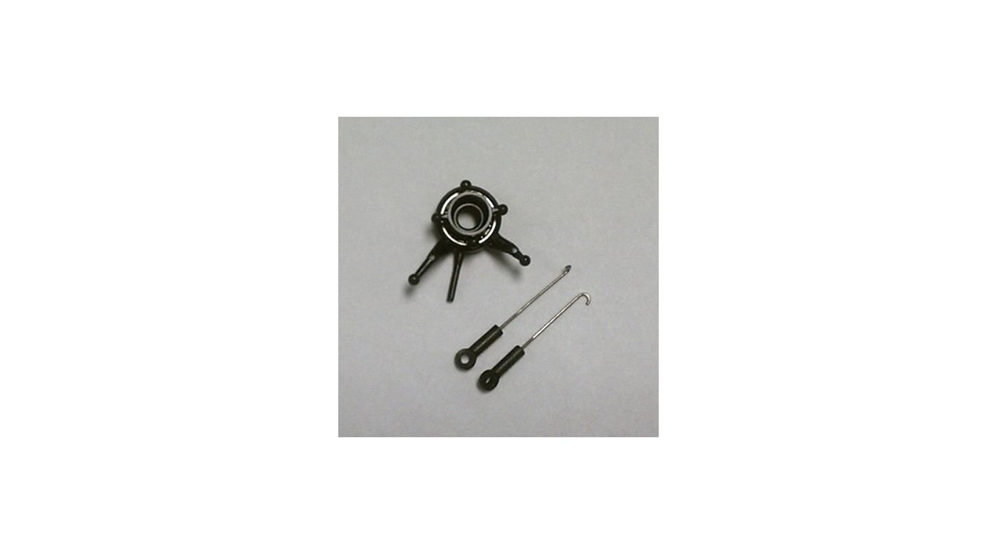Image for Swashplate with (2 ea.) Pushrods from HorizonHobby