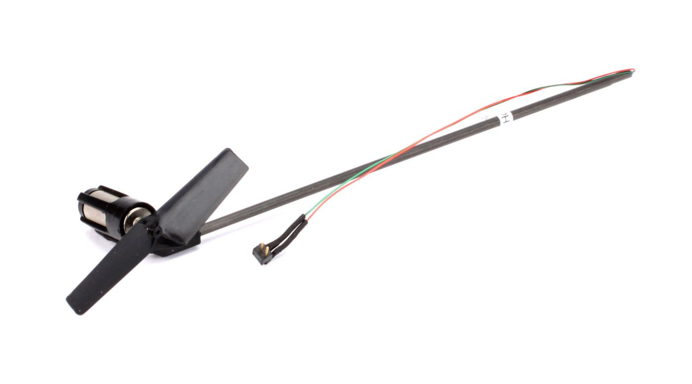 Image for Tail Boom Assembly with Tail Motor/Rotor/Mount: Nano CP X from HorizonHobby