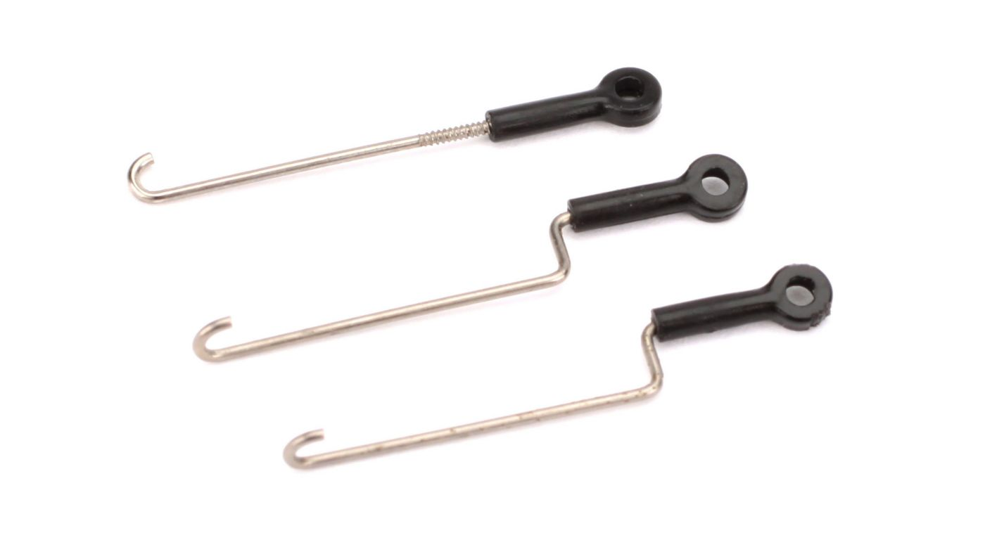 Image for Servo Pushrod Set with Ball Links: Nano CP X from HorizonHobby
