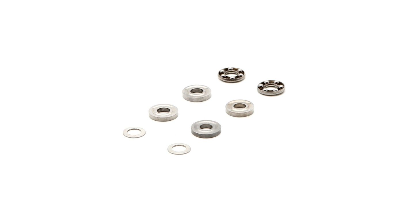 Image for 2.5x6x2.8mm Thrust Bearing: 180 CFX, 130 S, Fusion 180 from HorizonHobby