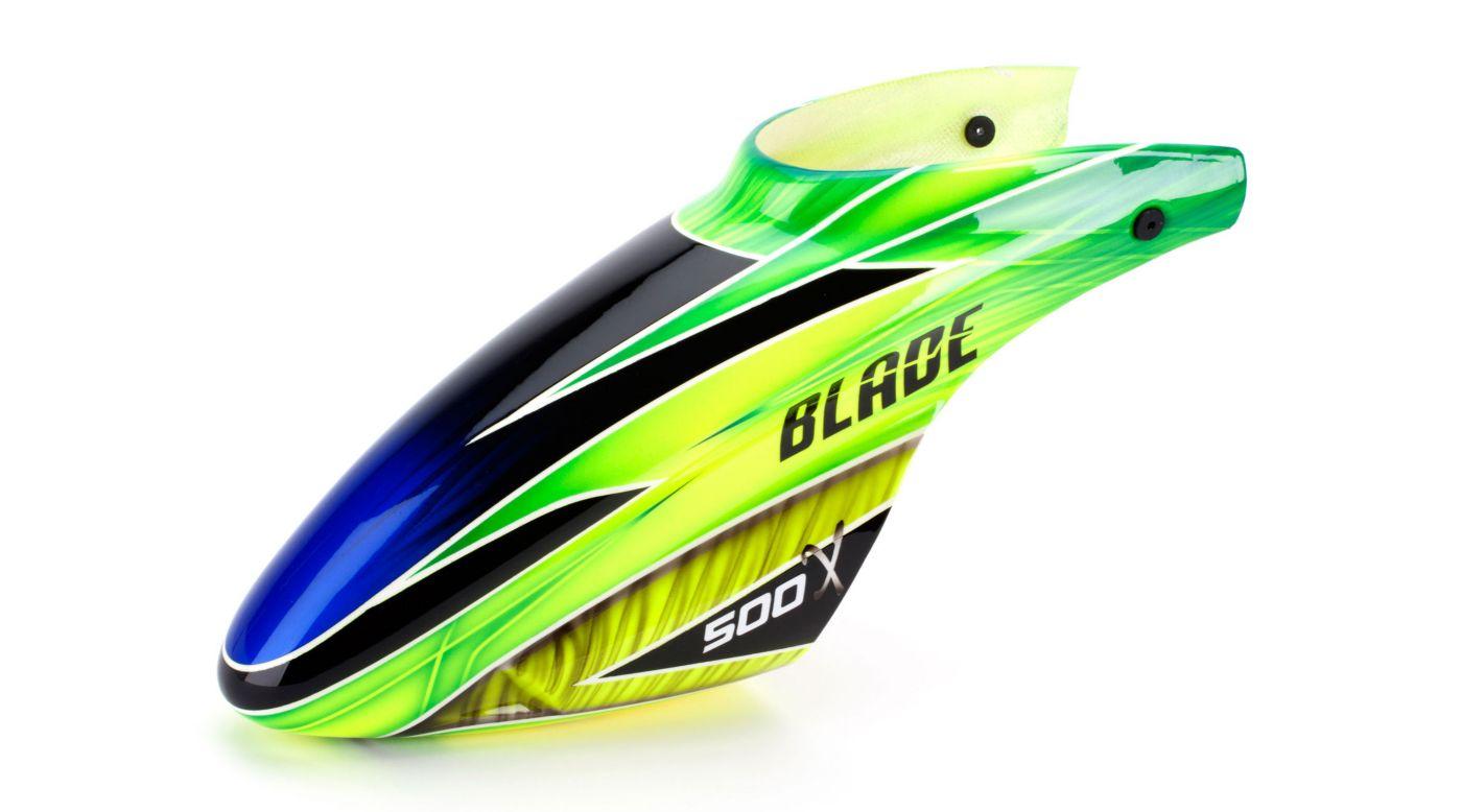 Image for Fiberglass Canopy, Green: Blade 500 from HorizonHobby