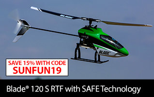 Blade 120 S RTF with SAFE Technology
